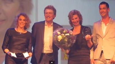 herma ontvangt newcomer award